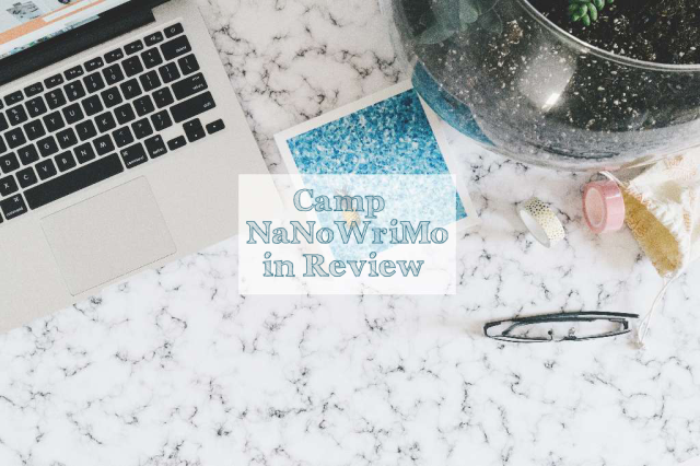 aloma writes camp nanowrimo review text overlay